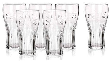 Coca-Cola 6dílná sada sklenic