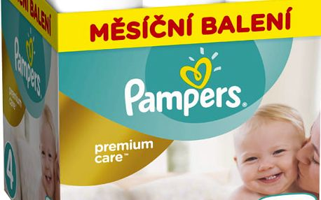 Pampers Pleny Premium Care 4 (Maxi) - 168 ks