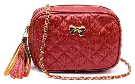 Dámská červená kabelka Gisella 540