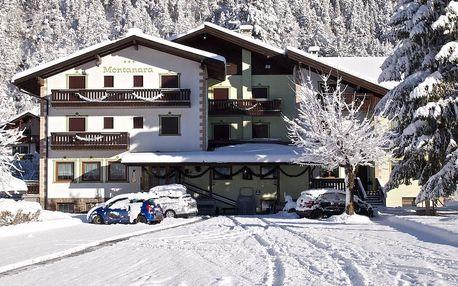 Itálie - Val di Fiemme/Obereggen na 6 až 8 dní, polopenze s dopravou vlastní