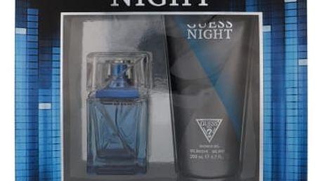 GUESS Night dárková kazeta pro muže toaletní voda 50 ml + sprchový gel 200 ml