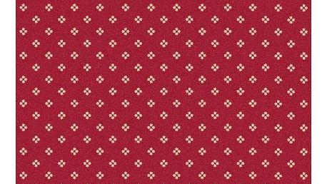 Červený koberec Universal Nilo, 133 x 190 cm