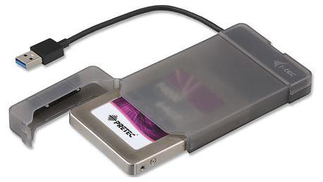 "Box na HDD i-tec MySafe pro 2,5"" SATA I/II/III SSD, USB3.0 černé (MYSAFEU313)"