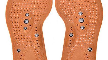 Masážní vložky do bot - s magnetem