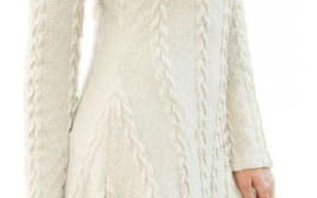 Šaty s dlouhým rukávem - v plus size velikostech