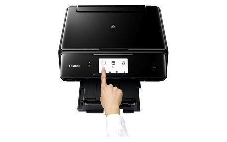 Canon PIXMA TS8050 - PSC/NFC/Wi-Fi/AP/WiFi-Direct/Duplex/PictBridge/PotiskCD/9600x2400/USB black