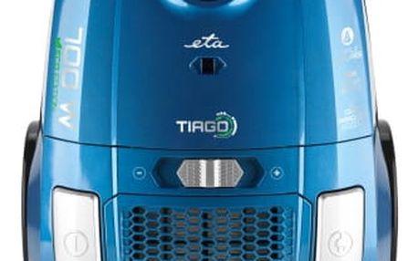 Podlahový vysavač ETA Tiago 4507 90000 modrý + DOPRAVA ZDARMA