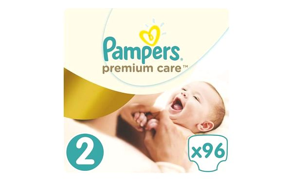 Pampers Plenky PremiumCare 2 Mini - 96 ks