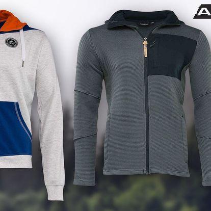 Pánský svetr nebo mikina Alpine Pro s kapucí