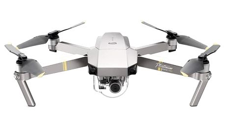 Dron DJI Mavic Pro Fly More Combo Platinum šedý (DJIM0252C)