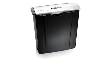 Skartovač Peach PS400-02 6 listů/ 8L/ podélný řez černý (PS400-02)