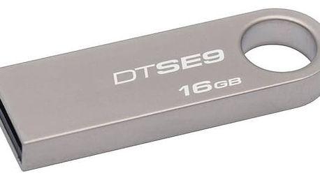 Kingston DataTraveler SE9 16GB (DTSE9H/16GB) kovový