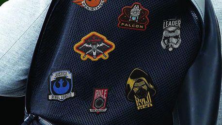 Nažehlovačky Star Wars EP8 14 ks