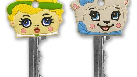 Rozlišovače klíčů pasáček a ovečka - 2 ks