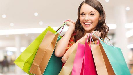 Otevřený voucher na nákup módních doplňků