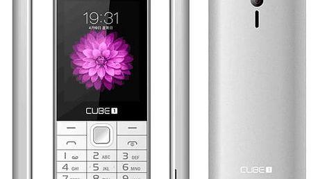Mobilní telefon CUBE 1 F400 stříbrný