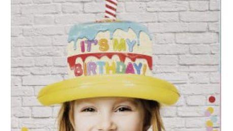 Nafukovací narozeninový klobouk