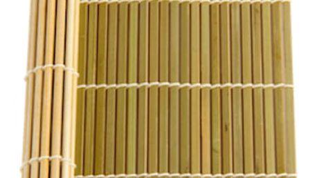 Benefisha Bambusová podložka na sushi 24 x 24 cm