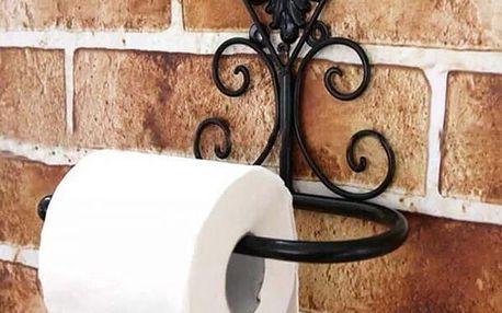 Ozdobný držák na toaletní papír