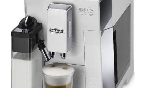 DeLonghi Eletta ECAM 45.760 W bílé/nerez
