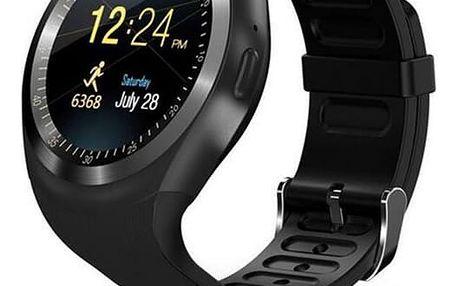 Chytré hodinky IMMAX SW4 SIM černé (09005)