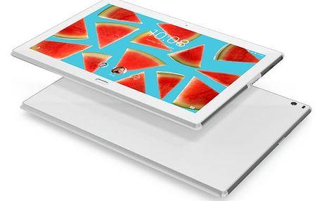 """Dotykový tablet Lenovo TAB4 10"""" PLUS Wi-Fi (ZA2M0016CZ) bílý Software F-Secure SAFE, 3 zařízení / 6 měsíců v hodnotě 979 Kč + DOPRAVA ZDARMA"""