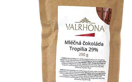 Mléčná čokoláda Tropilia Valrhona 29% 250 g