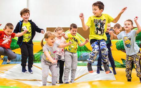 Celodenní vstup do herny pro děti do 15 let