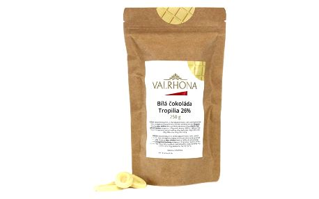 Bílá čokoláda Tropilia Valrhona 26% 250 g