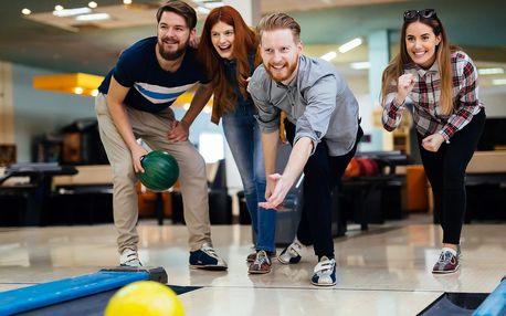 Hodina odpoledního bowlingu až pro 6 hráčů