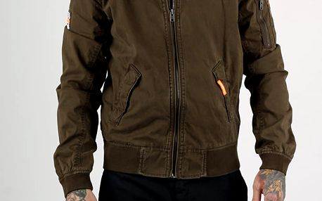 Bunda Superdry ROOKIE DUTY BOMBER Hnědá