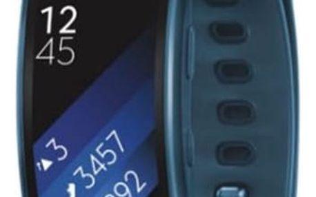 Fitness náramek Samsung Gear Fit2 vel. L modrý (SM-R3600ZBAXEZ)