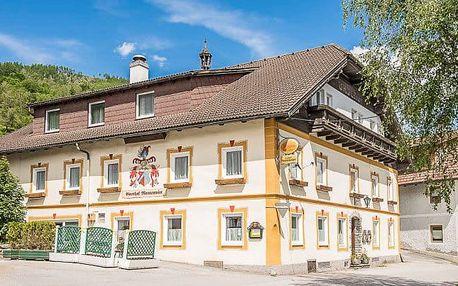Rakouské Lungau v penzionu Mentenwirt