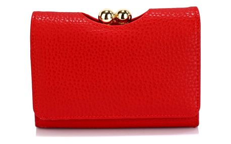Dámská červená peněženka Lucky 1065a
