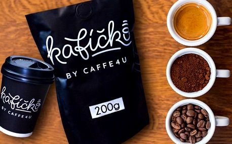 Vyvážené směsi kávy Arabika a Robusta od CAFFE4U