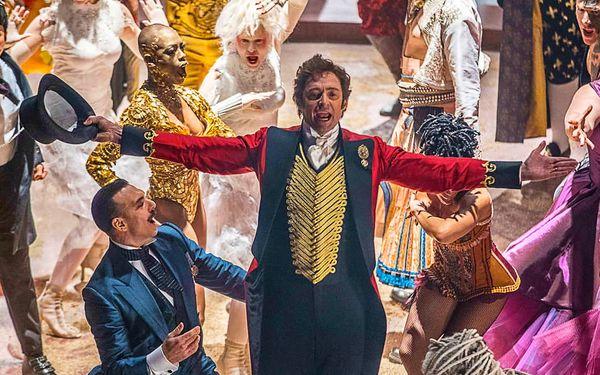 2× vstup na film Největší showman v Lucerně