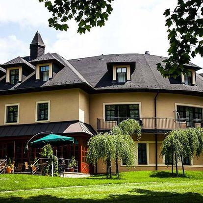 Exkluzivní wellness pobyt na 1 noc v Golf Hotelu Morris v Mariánských Lázních