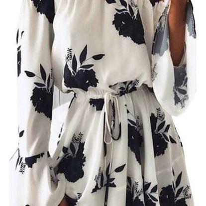 Květinové letní šaty Brenda - 4 varianty