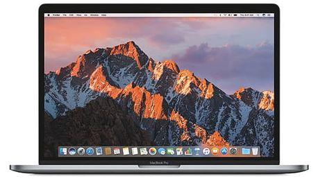 """Notebook Apple 15"""" s Touch Bar 512 GB - Space Gray (MPTT2CZ/A) Software F-Secure SAFE, 3 zařízení / 6 měsíců v hodnotě 979 Kč + DOPRAVA ZDARMA"""