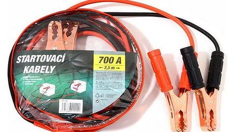 Startovací kabely Compass 700A 2,5 m zipper bag