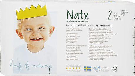 NATY NATURE BABYCARE 2 MINI, 34 ks (3-6 kg) - jednorázové pleny