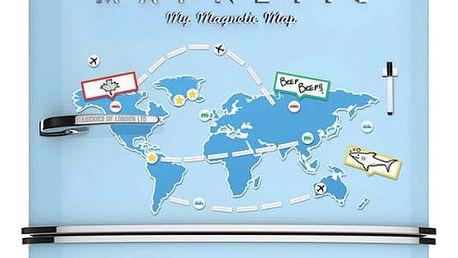 Magnetická mapa světa Mapnetic!