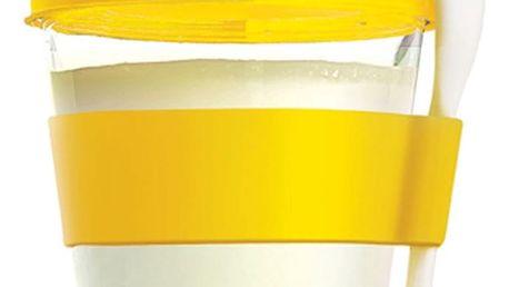 Žlutý svačinový kelímek Yo2GO
