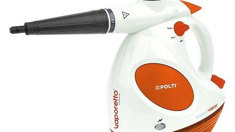 Parní čistič Polti VAPORETTO DIFFUSION s difuzorem vůně FRESCOVAPOR ruční bílý/oranžový