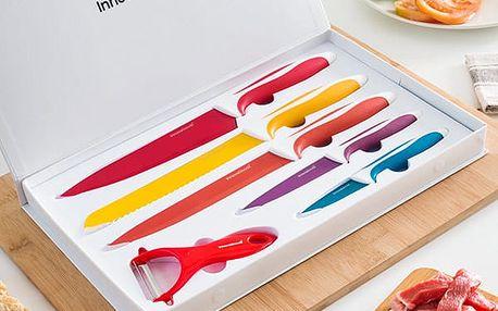 Sada Keramických Nožů se Škrabkou InnovaGoods 6 částí