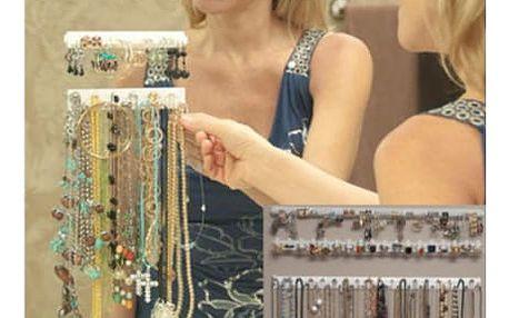 Závěsný pořadač na šperky - už žádné zamotané řetízky!
