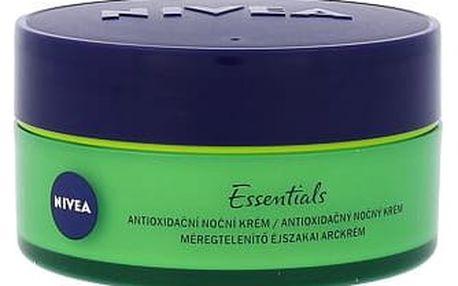 Nivea Essentials Urban Skin Detox 50 ml noční pleťový krém W