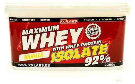 Maximum Whey Protein Isolate 2200 g vanilka