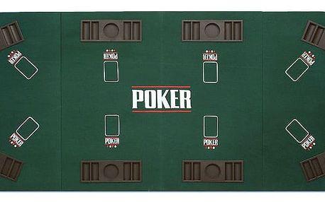 Garthen 508 Skládací pokerová podložka 180 x 90 x 1.2 cm - 3. edice