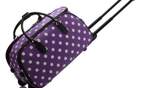 Dámská cestovní taška Esmme 308D fialová